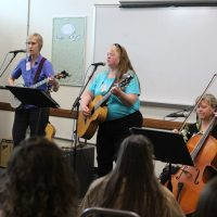 DOC WCCW Ladies Hear the Message with Music